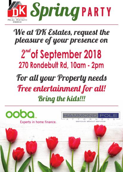 WE AT DK ESTATE, INVITE YOU TO COME AND ENJOY THE DAY WITH US!